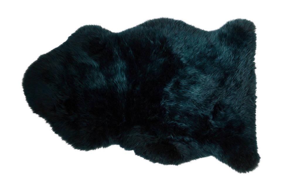Dutchbone Shaun schapenvacht   (90x50 cm), Groen