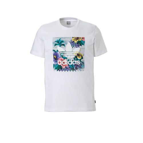 T-shirts adidas BB Floral T-shirt