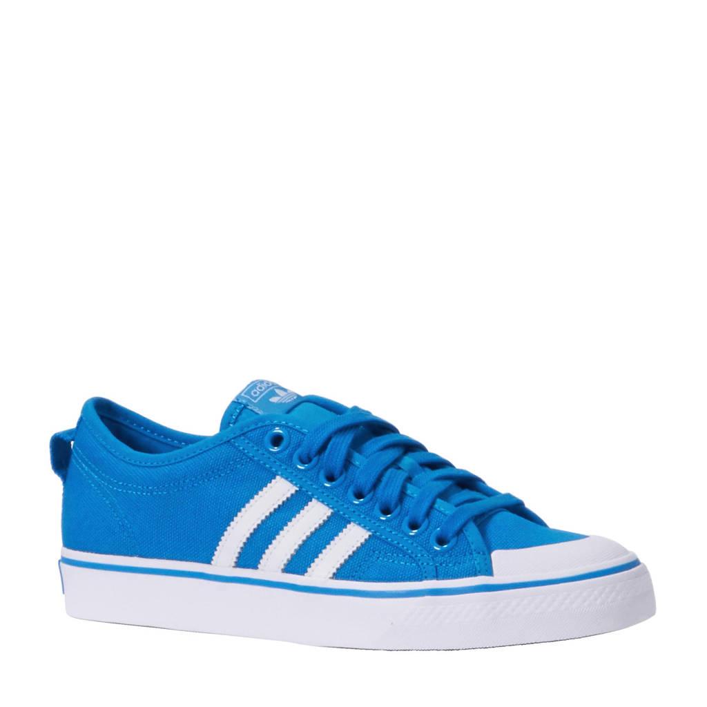 adidas originals  Nizza sneakers, blauw/ wit