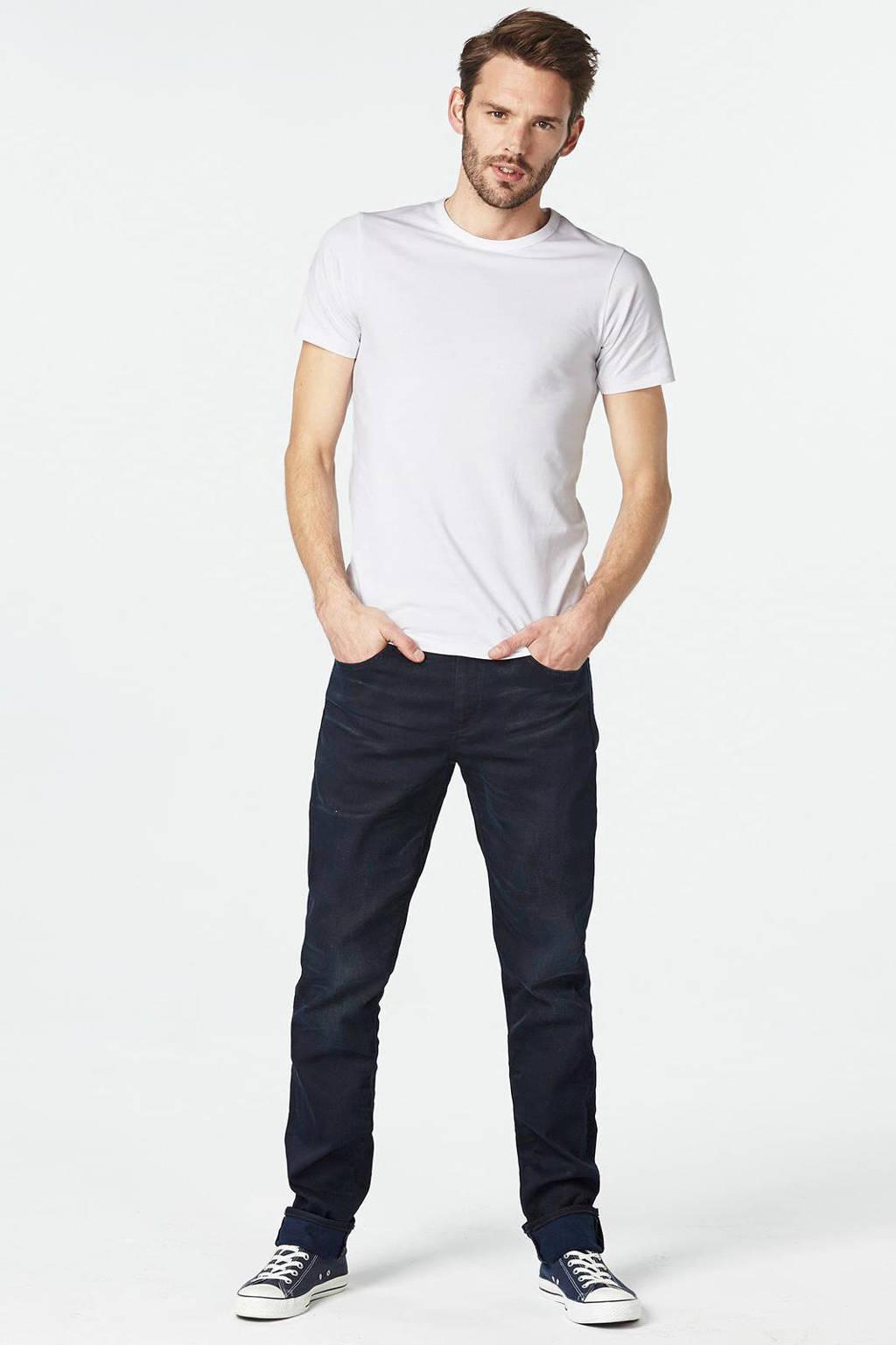 Jack & Jones T-shirt (set van 2), Wit