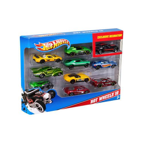 Hot Wheels giftset 10 stuks kopen