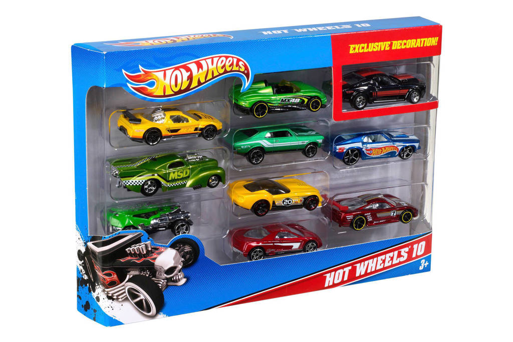 Hot Wheels  giftset 10 stuks