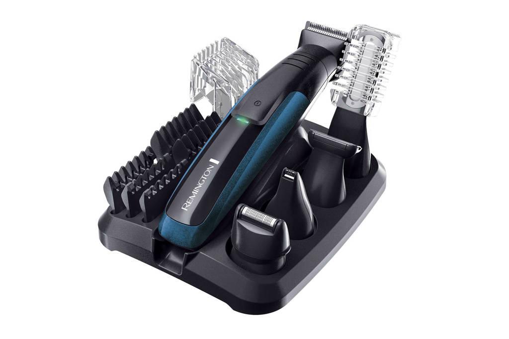 Remington PG6150 Plus groomingset, Zwart;Blauw