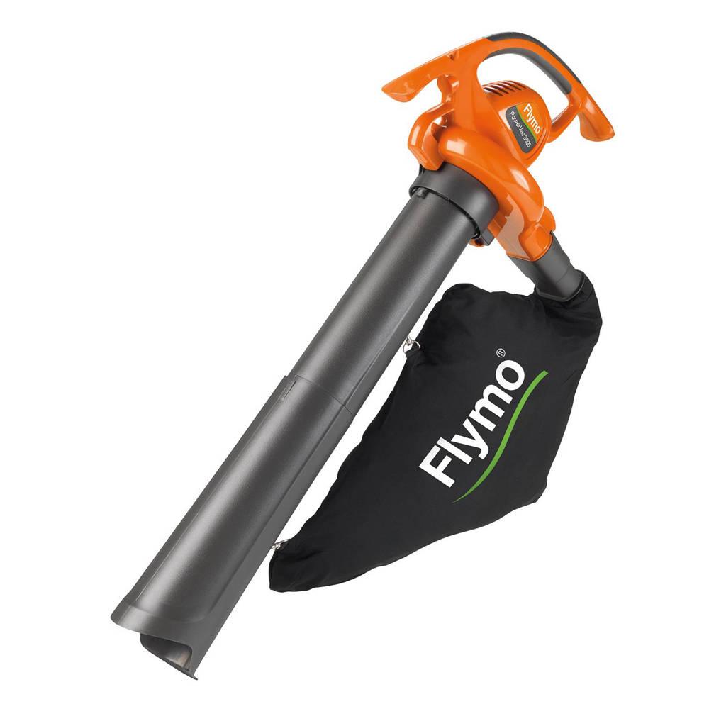 Flymo PowerVac 3000 elektrische bladblazer, Oranje