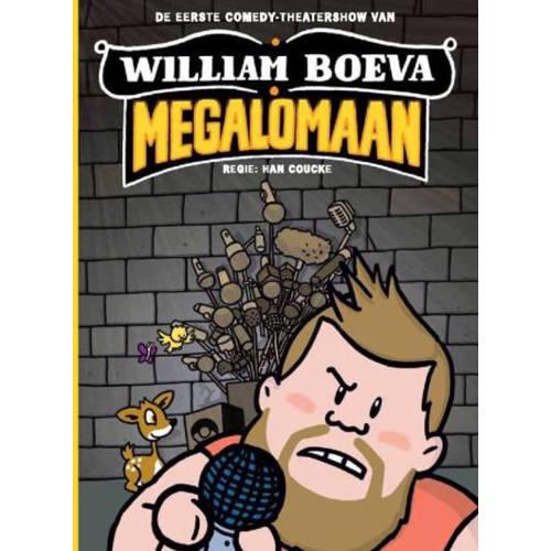 William Boeva - Megalomaan (DVD) kopen