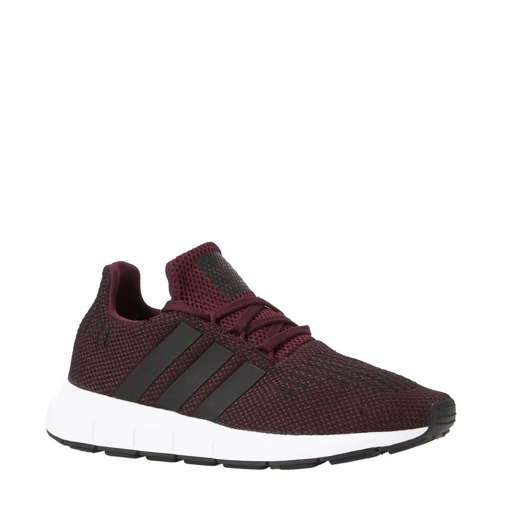 3d88db378d7 adidas originals Swift Run C sneakers, Rood/zwart/wit