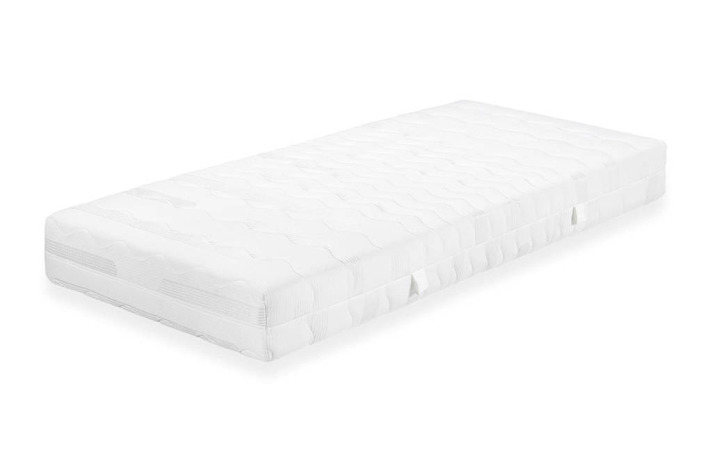 Beter Bed pocketveringmatras Silver Pocket deluxe Foam pocketveringmatras (80x200 cm), Wit