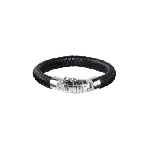 Buddha to Buddha Armband Ben Leather Black Medium (E) 19 cm 544BL