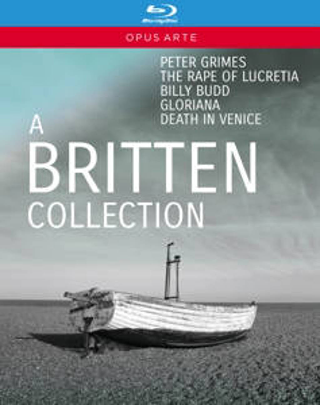 Various - A Britten Collection - 5 Opera's (Blu-ray)