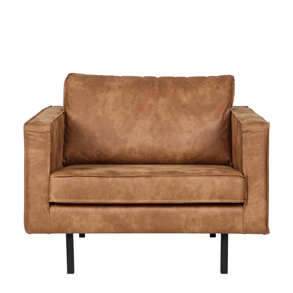 BePureHome fauteuil Rodeo, Cognac (eco leer)