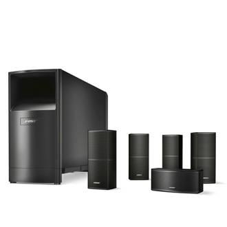 Acoustimass 10 speakersysteem zwart