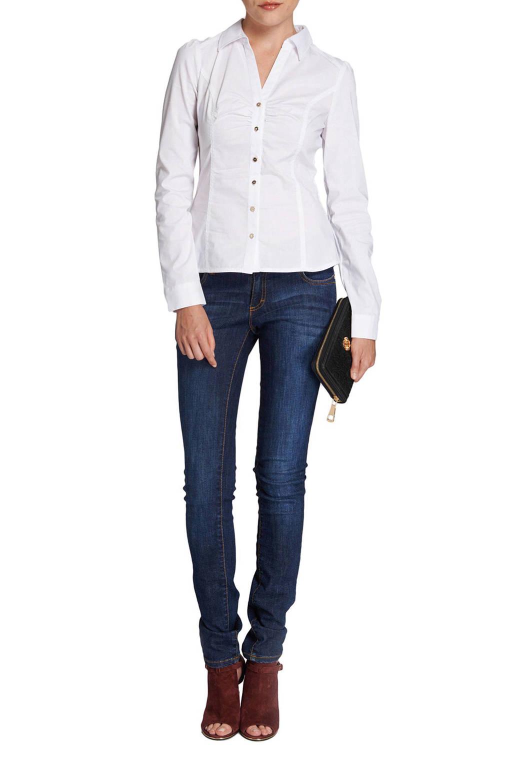 Morgan blouse, Wit