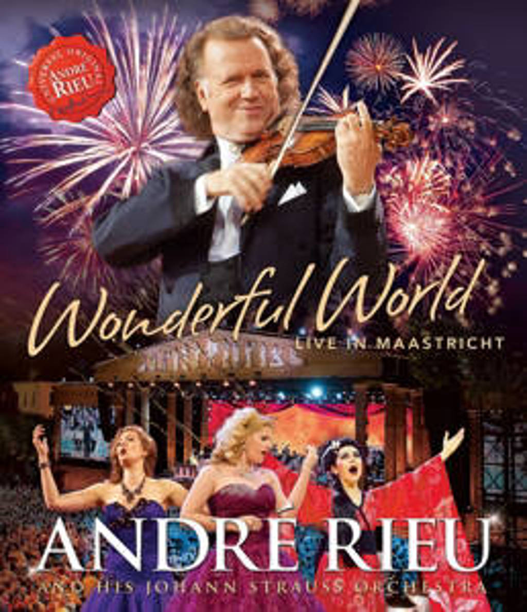 Andre Rieu - Wonderful World - Live in Maastricht (Blu-ray)