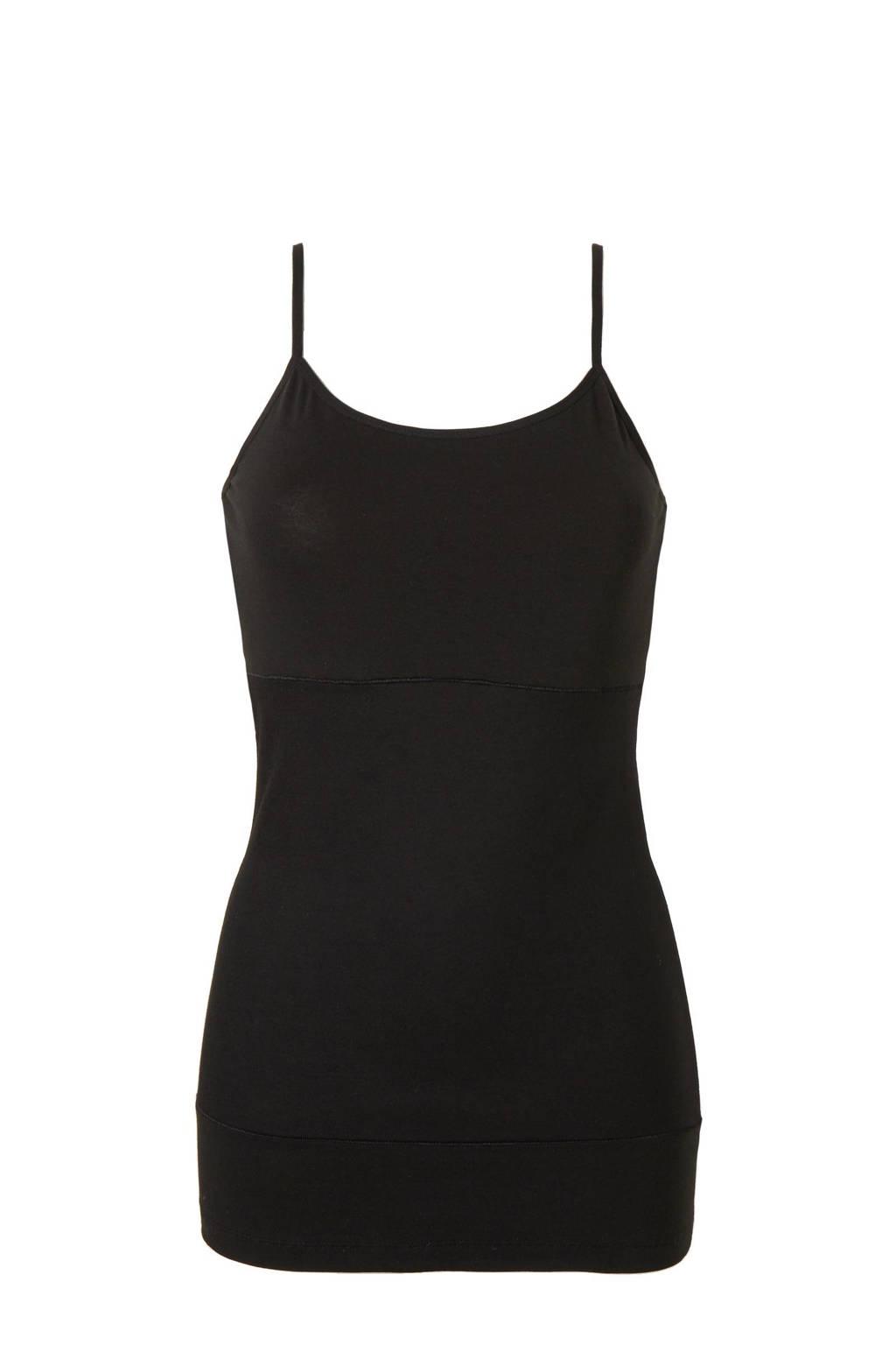 whkmp's own corrigerend hemd zwart, Zwart