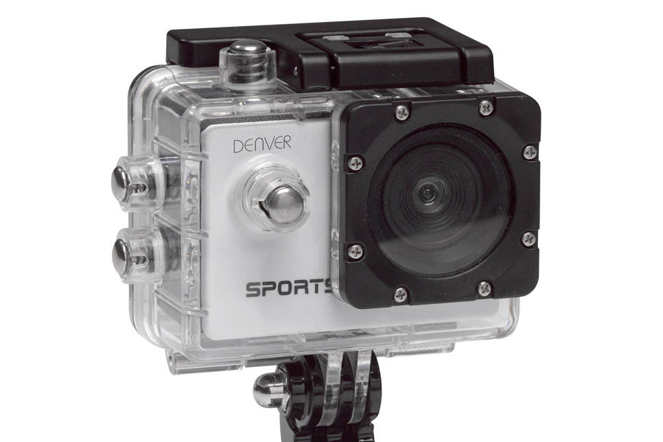 Denver ACT-1013 action camera, Zwart;Zilver