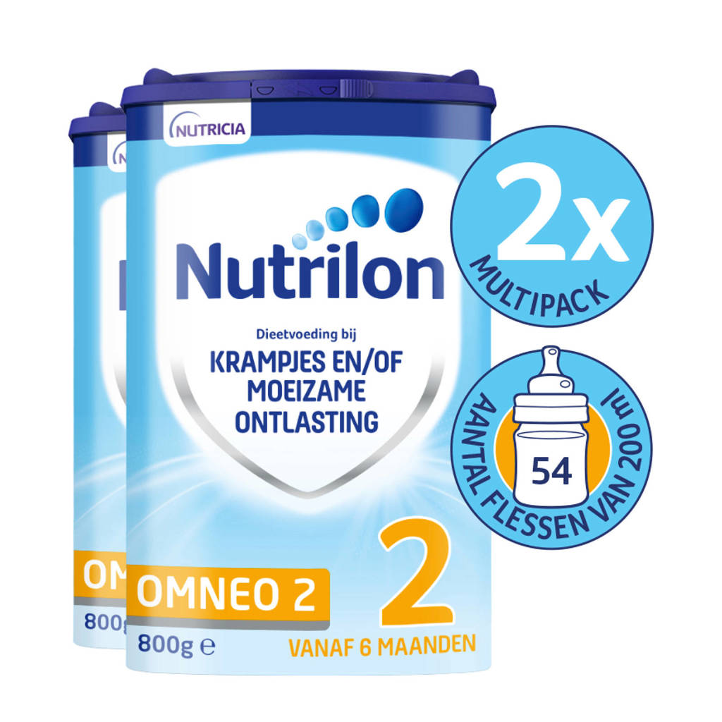Nutrilon Omneo-Comfort 2 met Pronutra (2-pack)