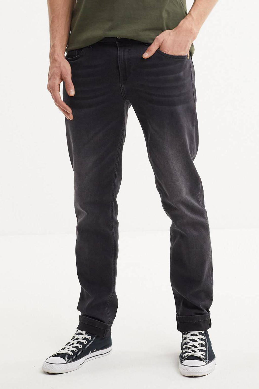Cars tapered fit jeans Shield black used, 01 Black Used