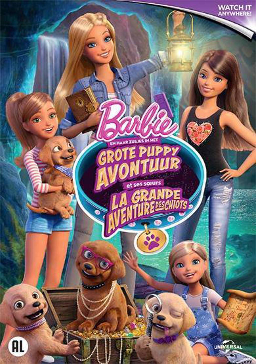 Barbie en haar zusjes - In het grote puppy avontuur (DVD)