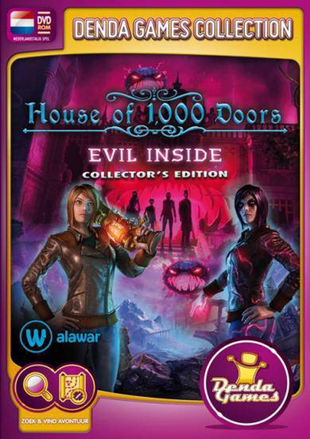 House of 1000 doors - Evil inside (Collectors edition) (PC)