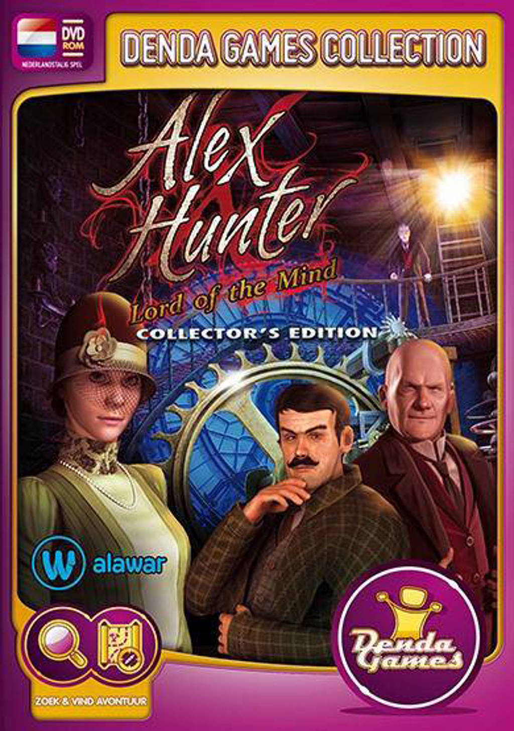 Alex Hunter - Lord of the mind (Collectors edition) (PC)