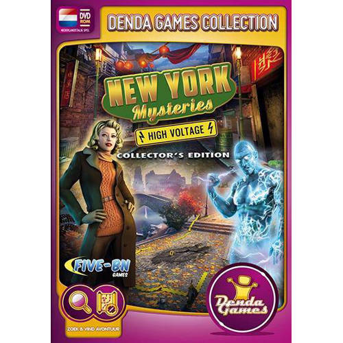 New York mysteries - High voltage (Collectors edition) (PC) kopen