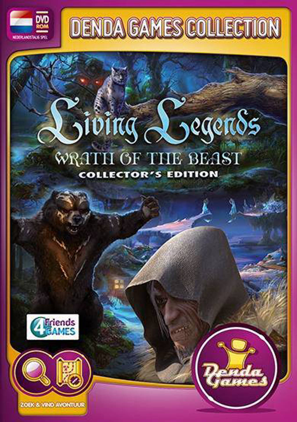 Living legends - Wrath of the beast (Collectors edition) (PC)