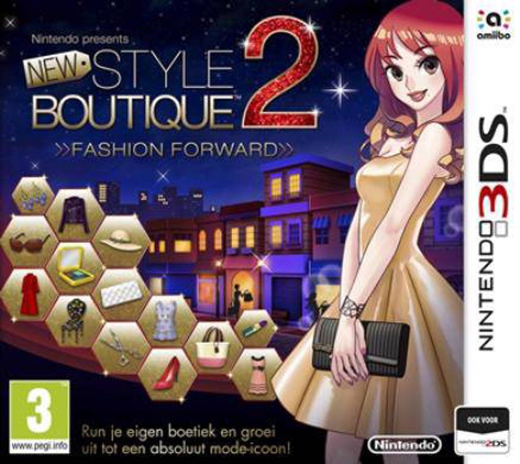 Style boutique 2 - Fashion forward (Nintendo 3DS)