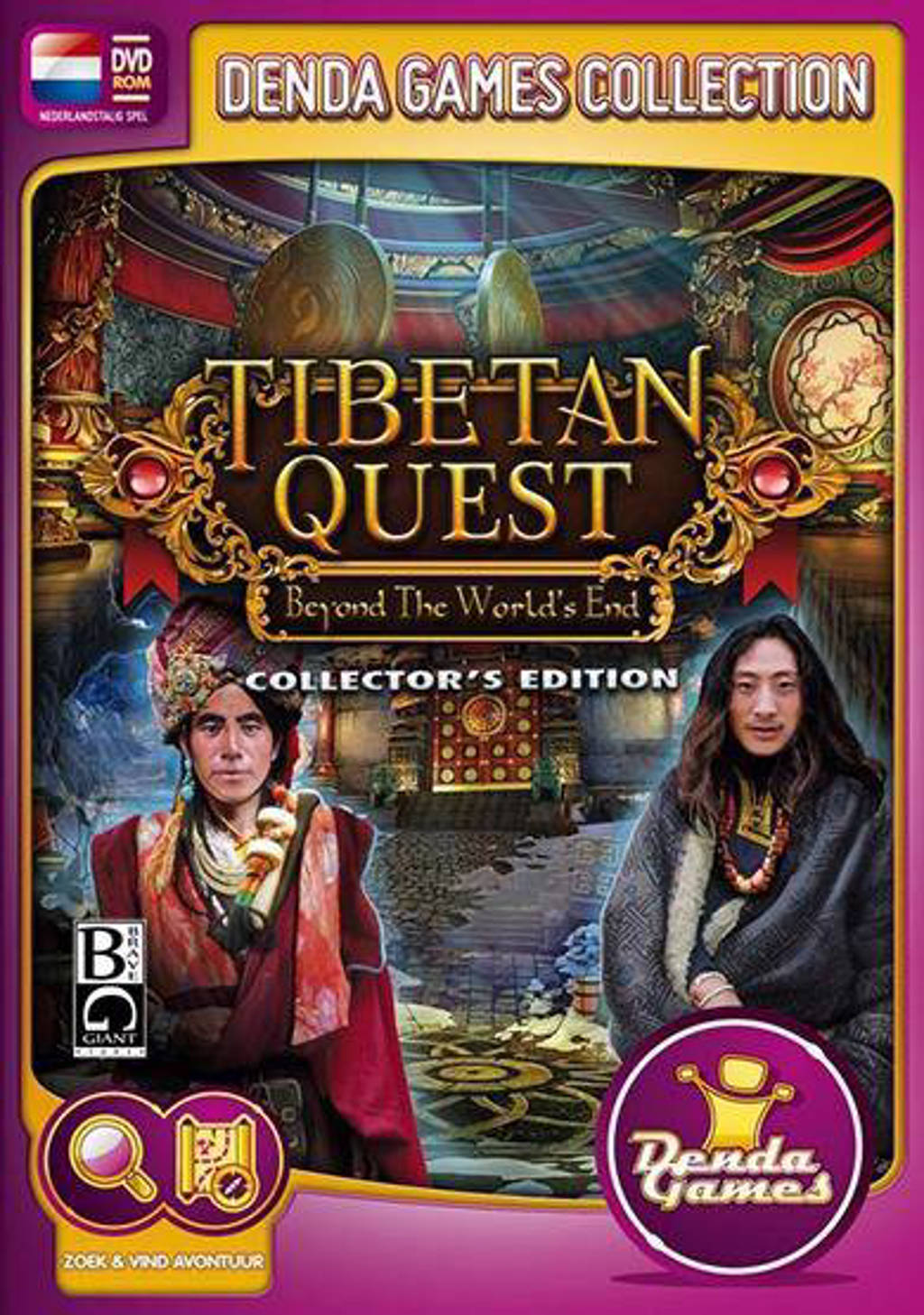 Tibetan quest - Beyond worlds end (Collectors edition) (PC)