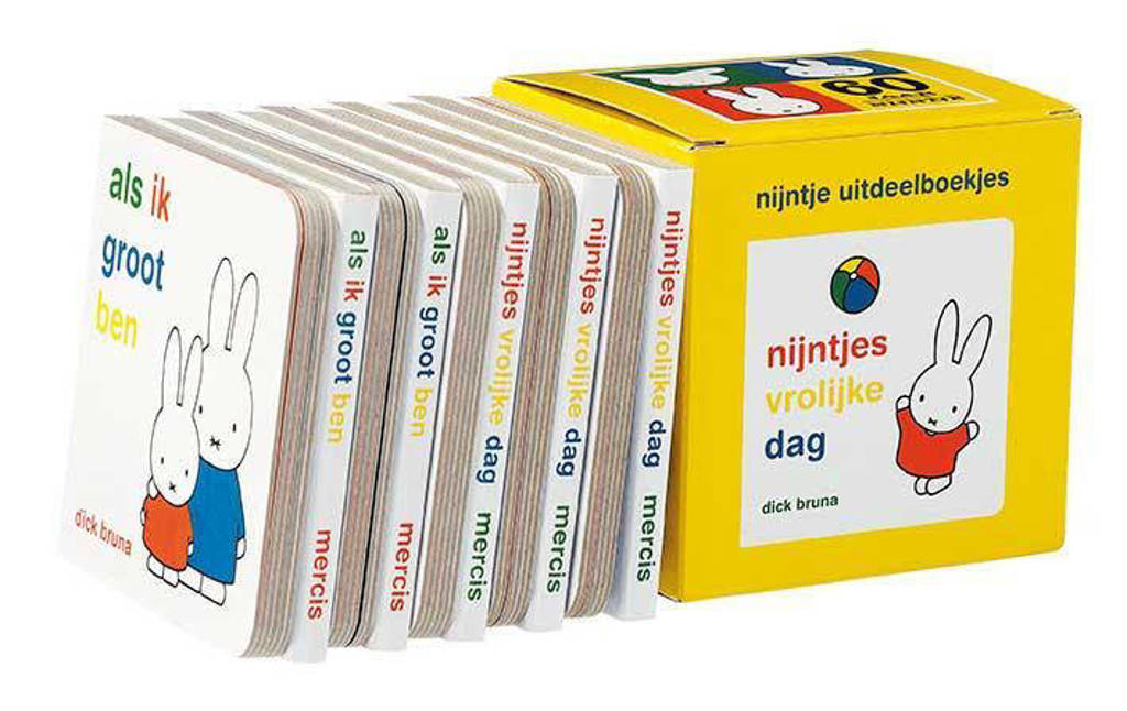 nijntje Nijntje uitdeelboekjes (box met 10 boekjes) - Dick Bruna, Geel