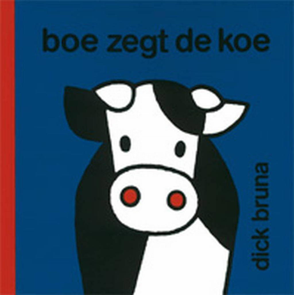 nijntje Boe zegt de koe - Dick Bruna, Blauw