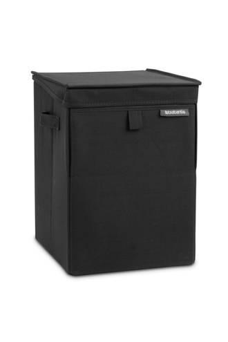 stapelbare wasbox 35 liter - Black