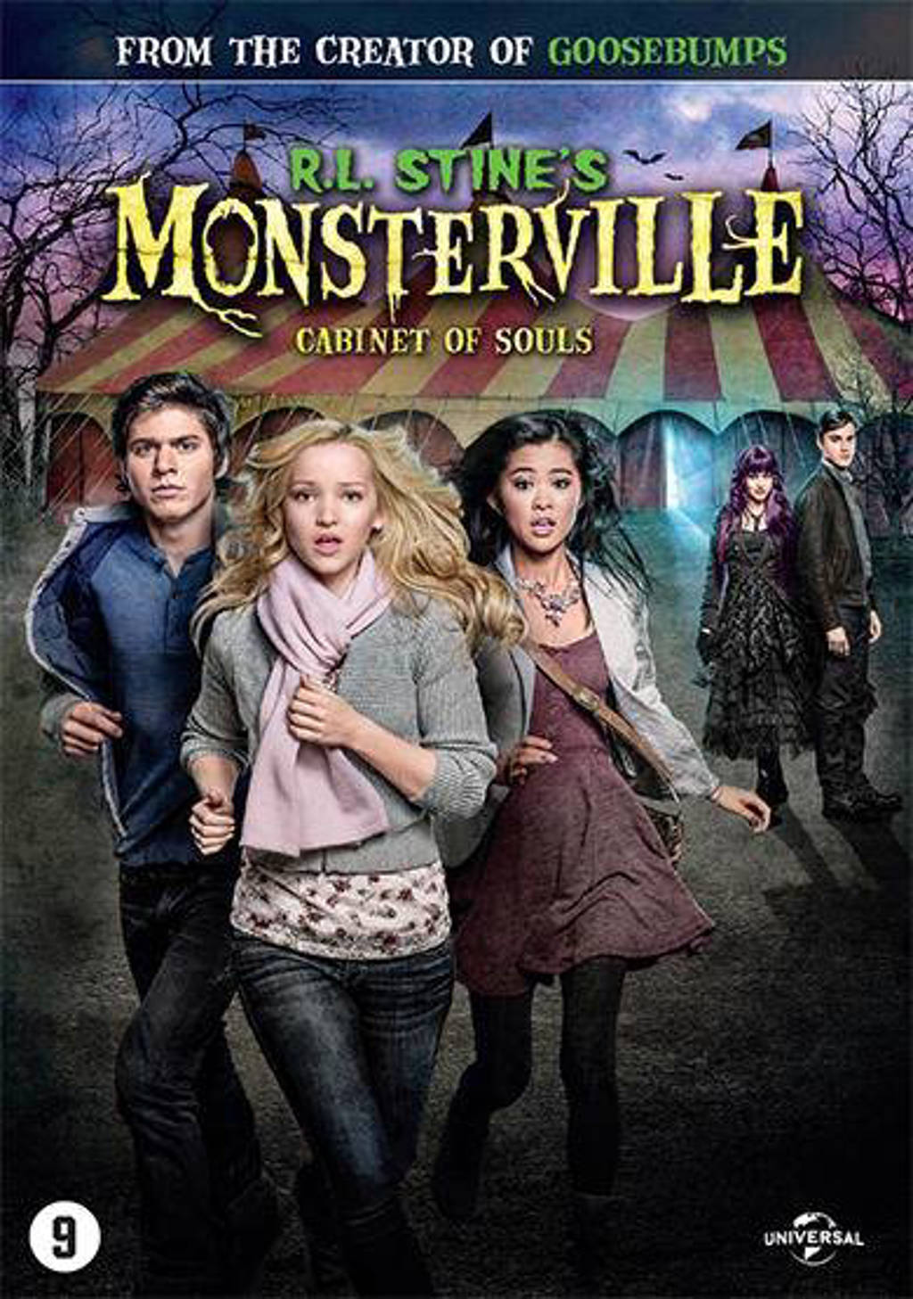 R.L. Stine's monsterville - Cabinet of souls (DVD)