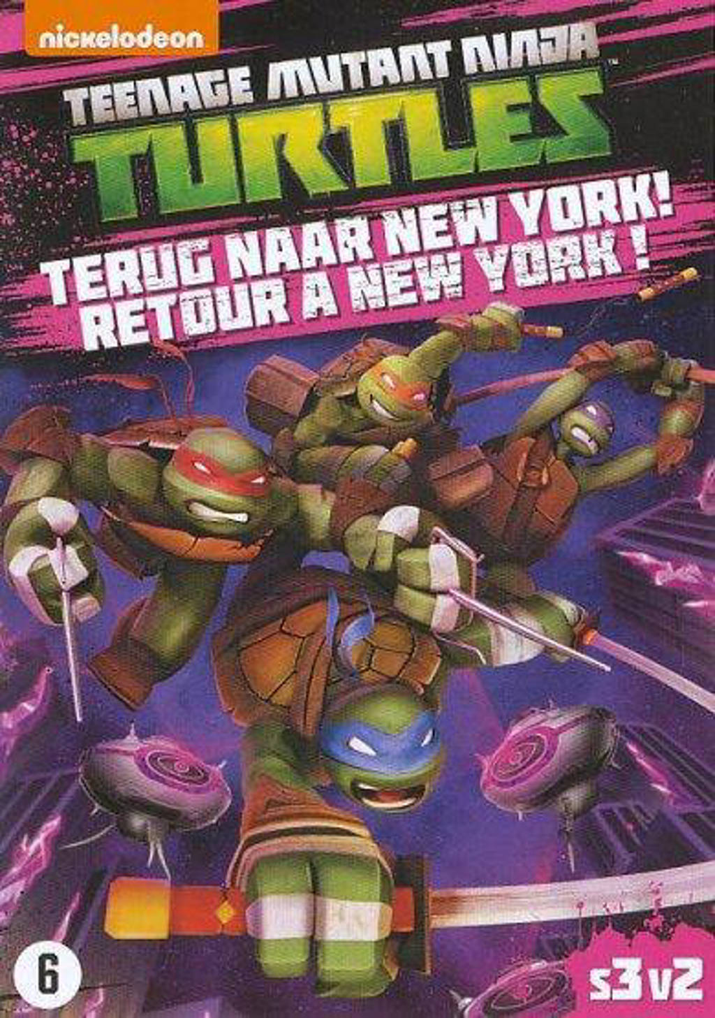 Teenage Mutant Ninja Turtles Seizoen 3 Deel 2 Dvd Wehkamp