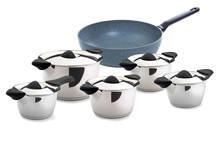 Q-Linair Classic pannenset 5-delig + wokpan
