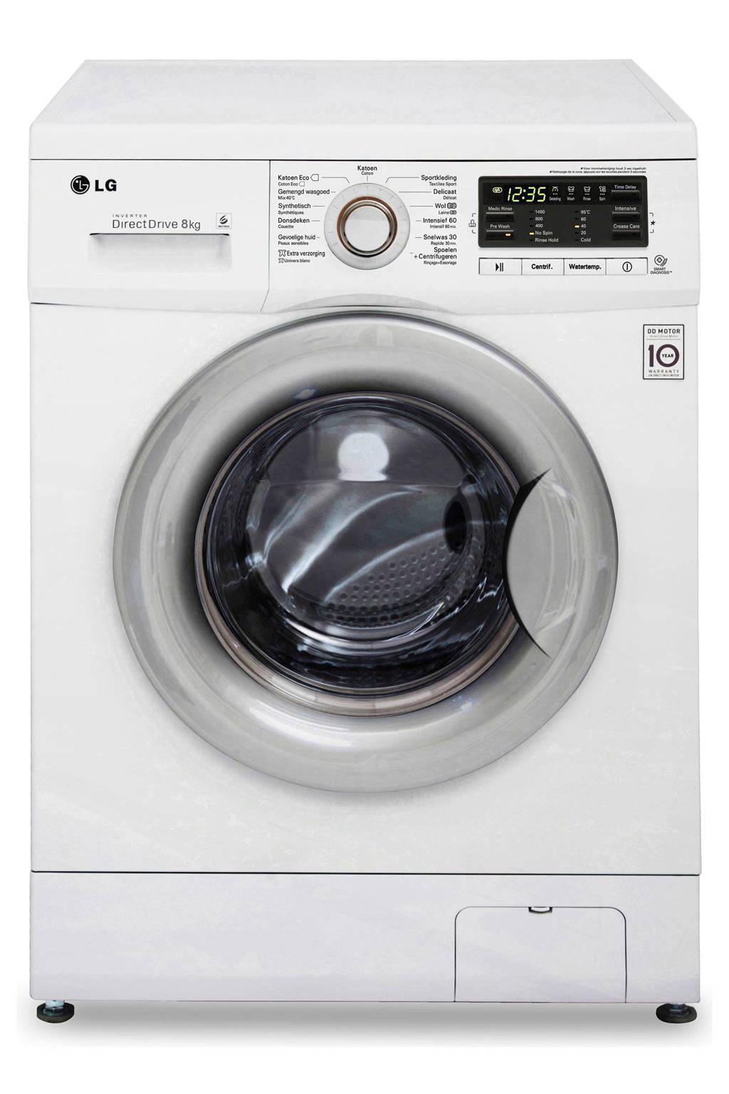 Vaak LG FH4B8TDA7 Direct Drive wasmachine   wehkamp ON19