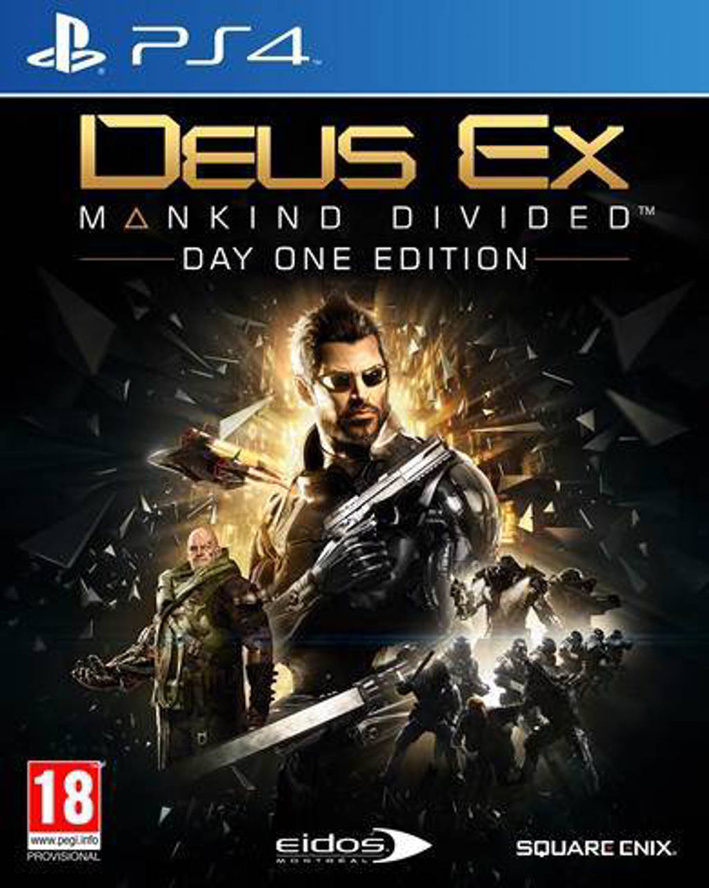 Deus ex - Mankind divided (Day one edition) (PlayStation 4)