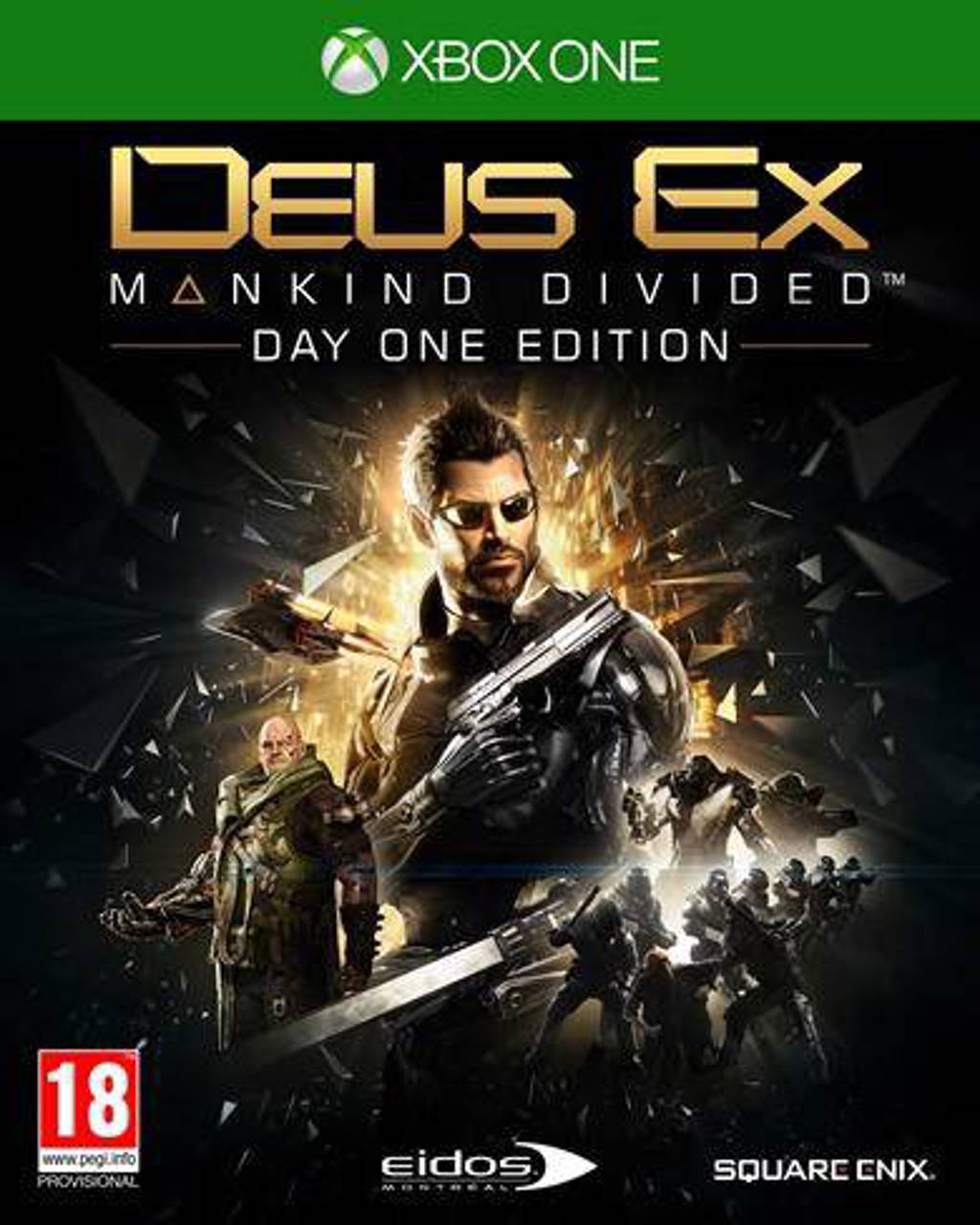 Deus ex - Mankind divided (Day one edition) (Xbox One)