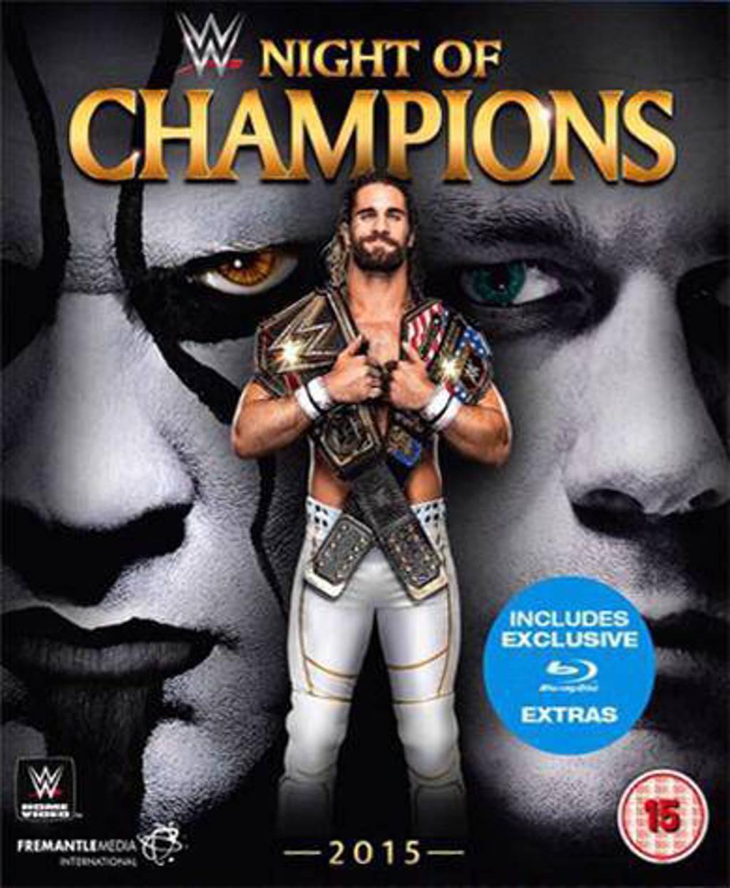 WWE - Night Of Champions 2015 (Blu-ray)