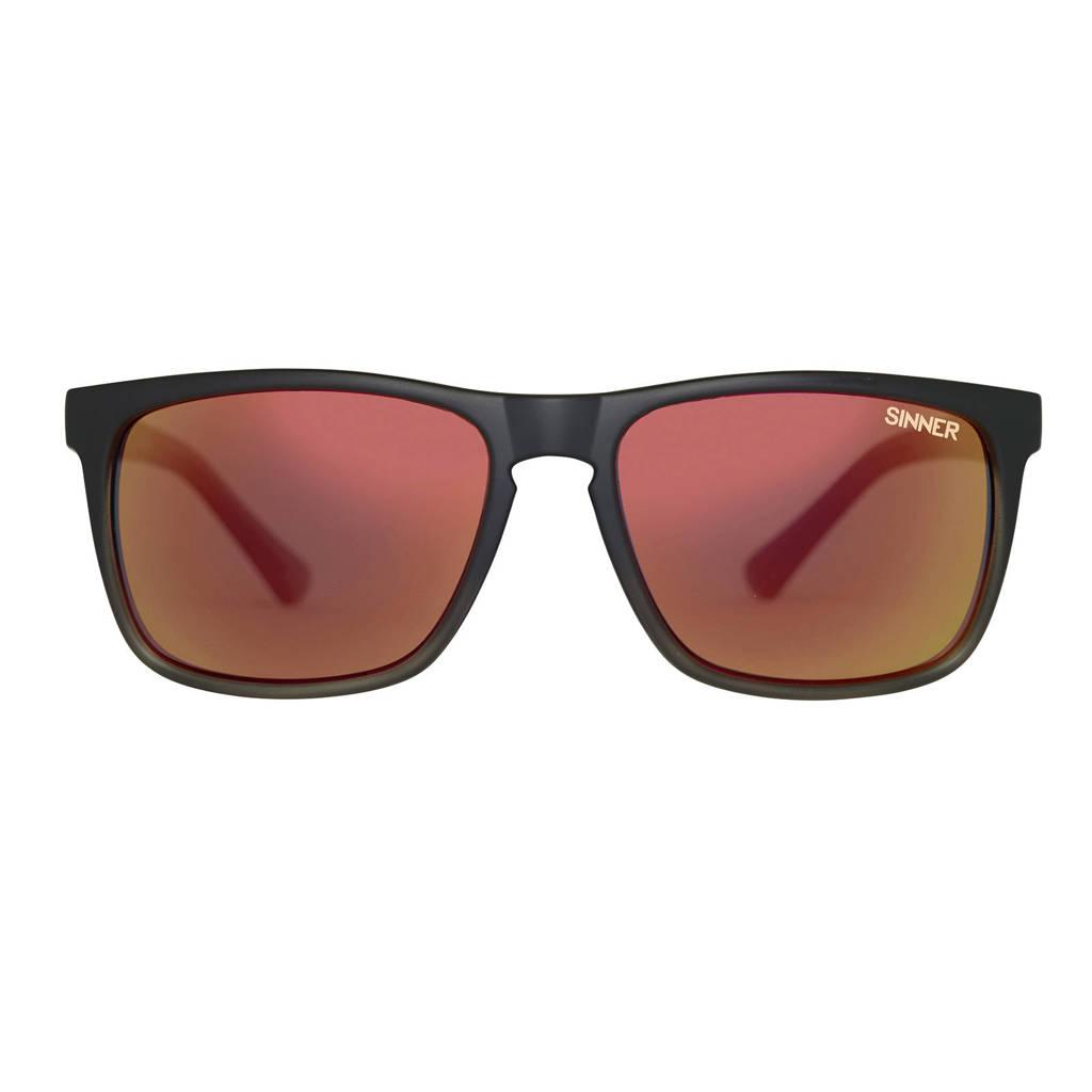Sinner zonnebril Oak SISU-719-10-P58, Zwart/roze/geel