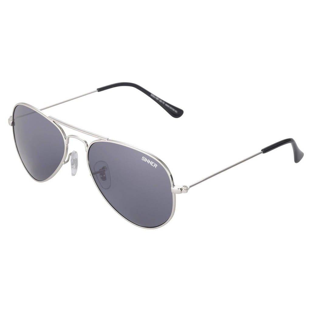 Sinner zonnebril Amoer zilverkleurig