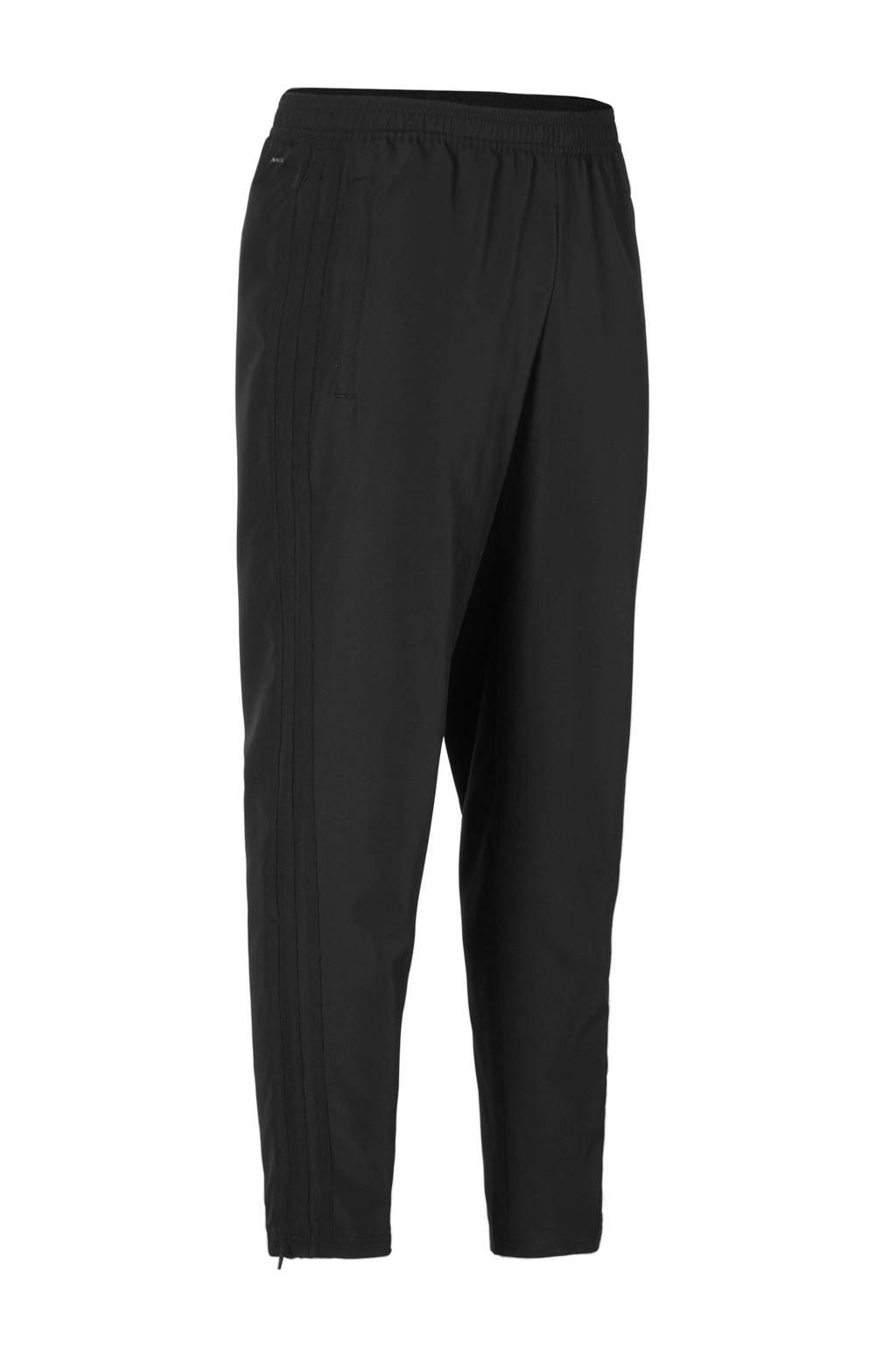 adidas   geweven sportbroek Con18 zwart, Zwart