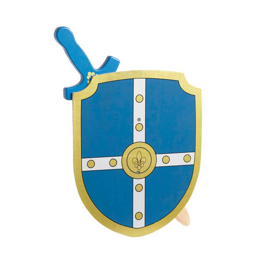 BS Toys houten ridderset