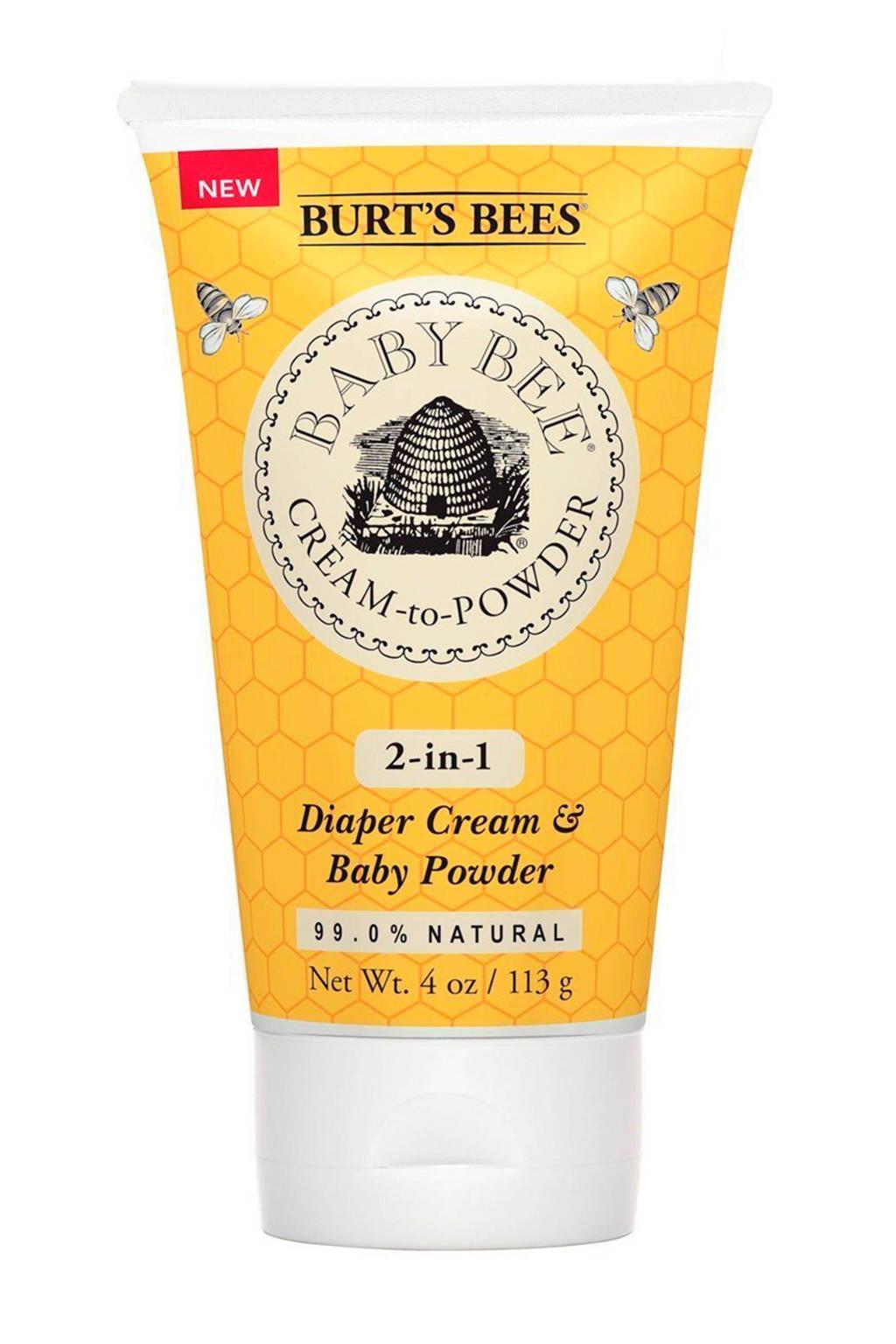 Baby Bee cream-to-powder 113 gram, Nee