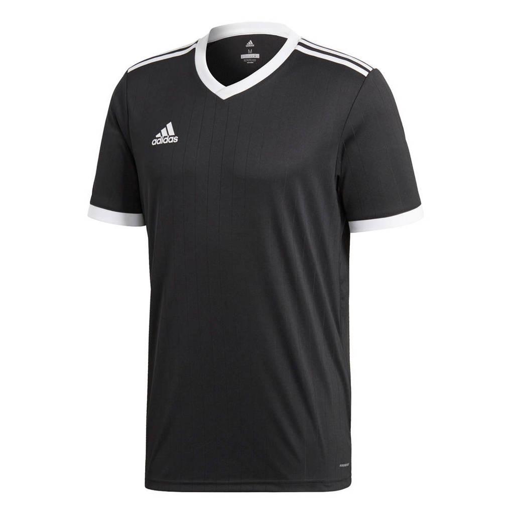 adidas Performance   sport T-shirt Tabela zwart/wit, Zwart/wit, Jongens/meisjes