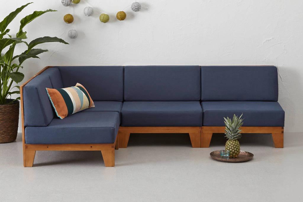 whkmp's own loungebank Belvi, Bruin/blauw