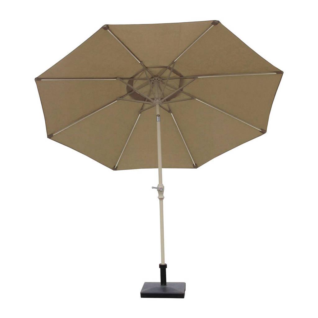 S-Line parasol LED (ø300 cm), Zand