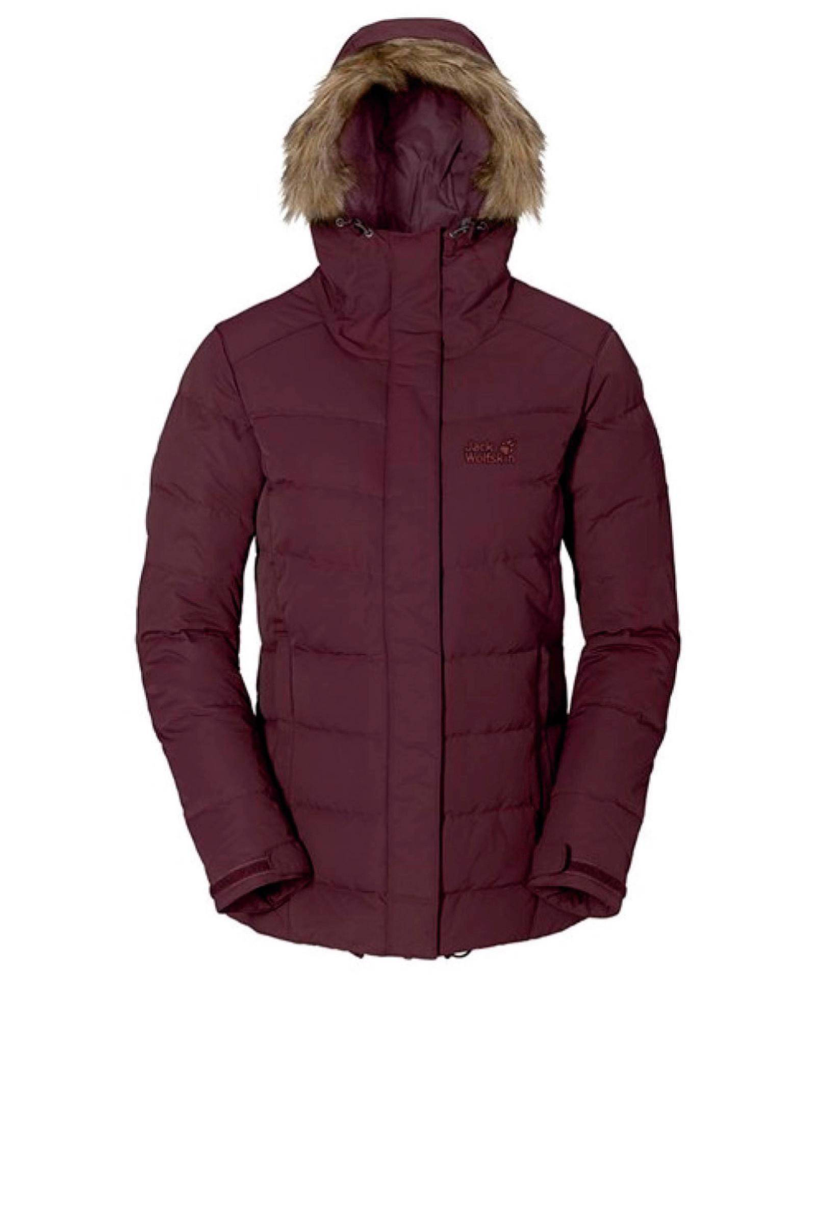 black jack wolfskin coat dames