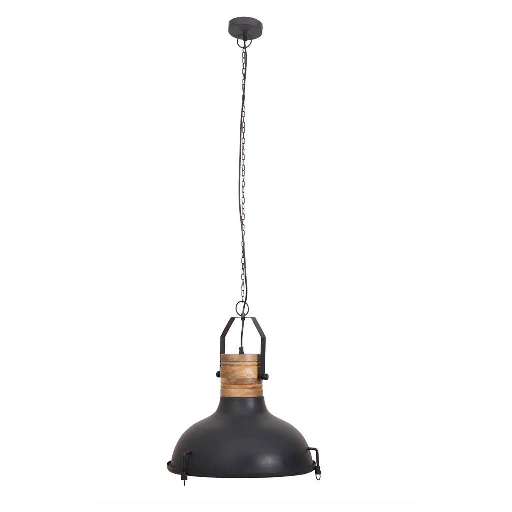 Dutchbone Raw hanglamp, Zwart