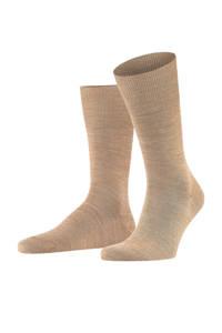 Falke Airport sokken, Bruin melange