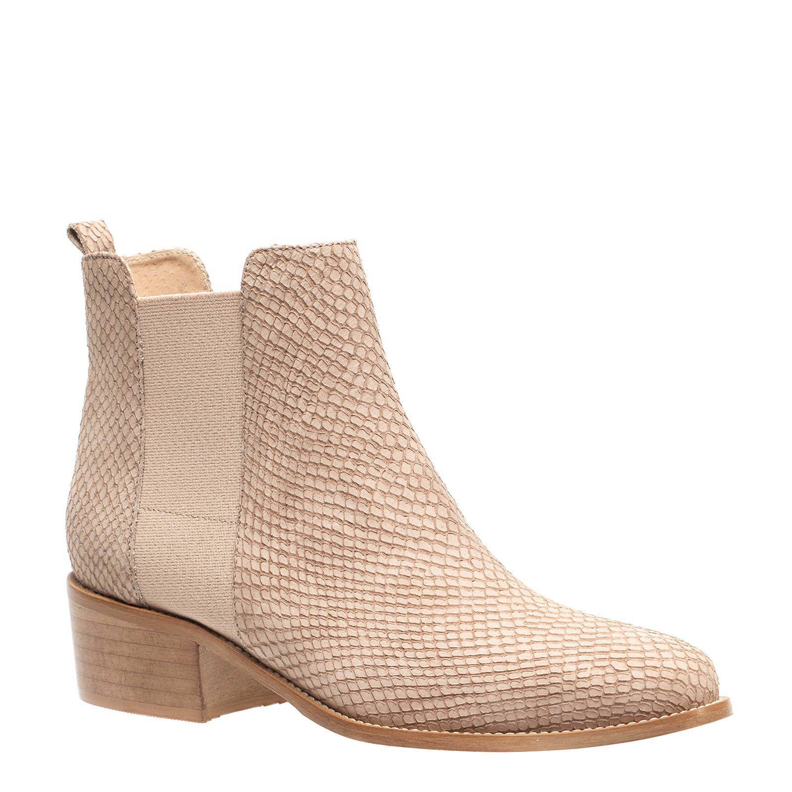 manfield nubuck chelsea boots